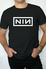 NINE INCH NAILS NIN Goth Rock Band Black XL T-Shirt Vtg Style Graphic Print
