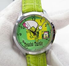 TOUCHE TURTLE, & HARDY HAR HAR,Green Band,MEN'S CHARACTER WATCH,M-33,L@@K