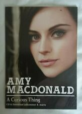 Amy Macdonald POSTCARD - Danish Promotional POSTCARD for Album - A Curious Thing
