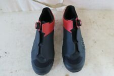 Louis Garneau Carbon LS-100 III Cycling Shoes Red/Navy Men's 45 US 10.75 $225