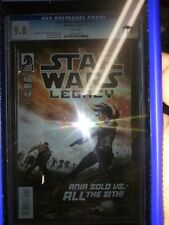 Star Wars Legacy #17 CGC 9.8 #v2 Ania Solo (Dark Horse Comics, 7/2014) 2nd Last