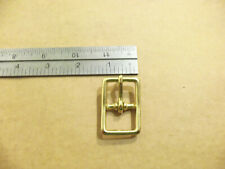 "3/4"" Solid Brass #121 Harness / Halter Buckles (Pack Of 5)"