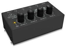 Ha400-beh Behringer Ha400 Amplificatore per Cuffie Stereo a 4 Canali