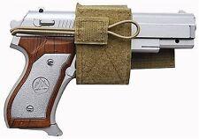 Tan Universal Hook & Loop Gun Holster BB Airsoft Pistol Handgun Tactical 236T
