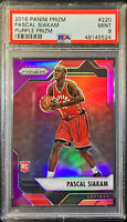2016 Prizm Pascal Siakam PURPLE #1/75 PSA 9 - MINT - POP 11 RARE