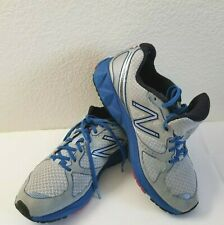 New Balance 890 Men's Gray and Blue Sz 10 Running Shoes Baddeley Revlite