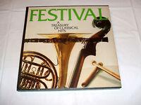 Festival/A Treasury Of Classical Hits SIX LP Box Set '74 Columbia House NM Vinyl