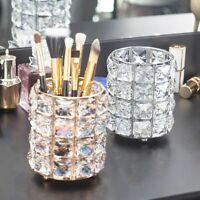 Kristall Make-up Pinselhalter Cosmetic Organizer Bad Vorratsbehälter Gut