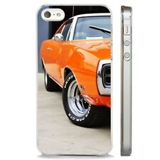 Muscle Car Dodge Charger  CLEAR PHONE CASE COVER fits iPHONE 5 6 7 8 X