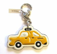 NWT Coach Leather NYC Taxi Key Fob / Key Chain Limited Edition - F58508