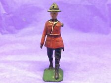 Britains Royal Canadian Mounted Police Trooper  (Ref W 263) Metal, Missing Arm