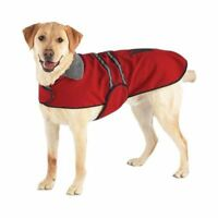 Casual Canine Ultra Soft Red Dog Jacket with Reflective Stripes XS S NWT