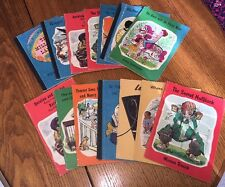 Lot 14 Vintage Childrens Books American Book Company 1960's Reading Round Table