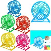 Hamster Windmill Wheel Cage Pet Gerbil Mouse Toys Running Exercise Paddle Wheel