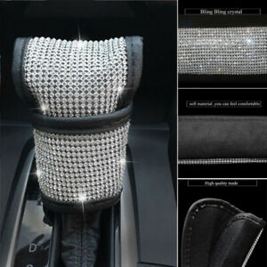 Universal Auto Car Bling Crystal Gear Shift Knob Cover Decorative Accessories