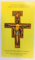 Saint Francis of Assisi Prayer before the Crucifix, Prayer/New from Italy
