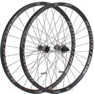 """Bontrager Line Elite 30 Boost TLR Wheelset // 29"""" 148x12mm 110x15mm Sram XD"""