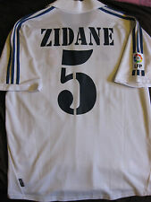 Zinedine Zidane #5 Real Madrid 2001/2002 Juventus France Accueil Shirt Adidas (L)