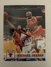 1993-94 NBA Hoops # 28 Michael Jordan Chicago Bulls . MINT !! FREE SHIPPING.