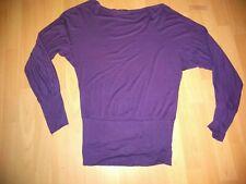 Ladies Purple Slouch Top - Small/Medium