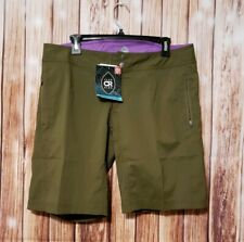 Club Ride Ventura Women's Shorts Olive Green Size L NWT