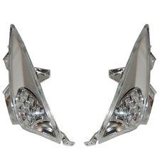 FRECCE LAMPEGGIATORE ANTERIORE SX/DX FUME' A LED PER YAMAHA TMAX T MAX 500 08>11