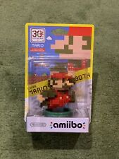 Amiibo Mario 8 Bits - Colección 30th Aniversario (Precintado e impecable)