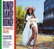 BING! BANG! BONG! ITALIAN GIRLS SING POP -  VARIOUS ARTISTS (NEW SEALED 3CD)
