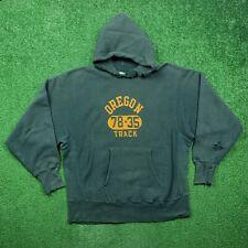 Vintage 70s Champion Oregon Track USA Reverse Weave Sweatshirt Nike XL 1978