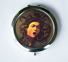 Caravaggio Medusa Compact MIRROR Pocket Mirror fine art painting snakes