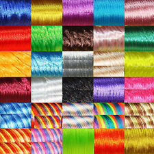 Colours to choose Beads Satin Cord 20 Metres Thread Tail Mouse 2mm A149