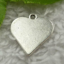 Free Ship 160 pieces tibet silver playing cards red heart charms 20x19mm #1914