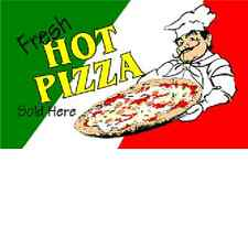 Fresh Hot Pizza Flag 3' x5' Poly