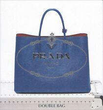 PRADA Tote & Bag Collection CATALOG Saffiano Struzzo DOUBLE BAG 2014
