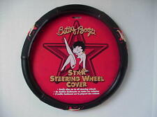 Betty Boop ~-STEERING WHEEL COVER STAR DESIGN ~