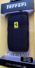 Carcasa Ferrari Blackberry 8520/9300 Negra