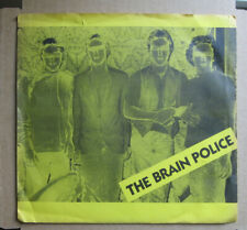 THE BRAIN POLICE~ 'Kind Of A Drag' 1980 Michigan Private Punk 45 1980 PS vg++/nm