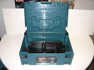Makita Makpac Gr.2,mit Einlage,Koffer, P 02375,P-02375,für DHP oder DDF, Makpak