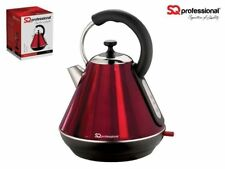 Legacy Cordless Electric Kettle Fast Boil 2200w 1.8l Ruby Red