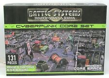 Battle Systems BSTSFC005 Cyberpunk Core Set (Sci-Fi Terrain) Urban Scenery & Mat