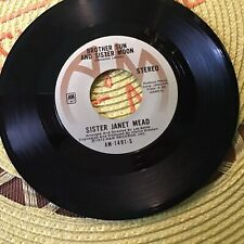 Sister Janet Meade Gospel 45.. The Lords Prayer../..Brother Sun Sister Moon Vg+