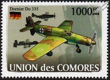 WWII Luftwaffe DORNIER Do.335 Pfeil (Arrow) Heavy Fighter Aircraft Stamp