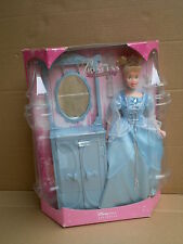 Disney Princess Disneystore Cinderella Doll Dressing Table Mirrow Furniture Set