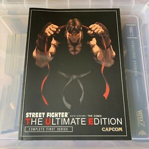 Udon Street Fighter The Ultimate Edition Complete First Series Ken Siu-Chong