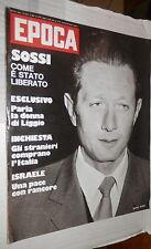 EPOCA 1 giugno 1974 Mario Sossi Rumor Kissinger Luciano Liggio Cannes Occhini