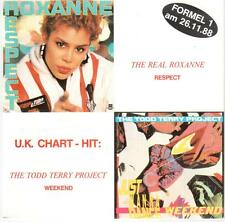 """<4616-19> 7"""" Single: The Real Roxanne - Respect"""
