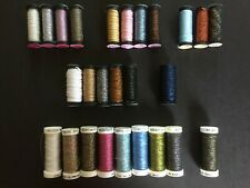 Mixed Lot of Kreinik Metallics Assorted Size Braid & Ribbon/Accentuate/Bijoux