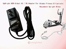 AC Adapter For Bladez by BH Fitness Trainer Stationary Cycling Bike Power Supply
