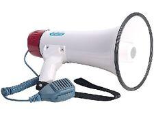 Megafon Megaphon Megaphone inkl. abnehmbarem Mikrofon mit Sprechtaste 25 Watt