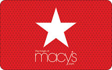 Macy's Gift Card - $25, $50 $100 or $200 - Email delivery